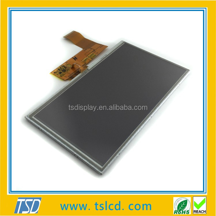 Wholesale 7 inch lcd touch screen 800x480 with RGB/TTL interface &50Pins for Automotive application