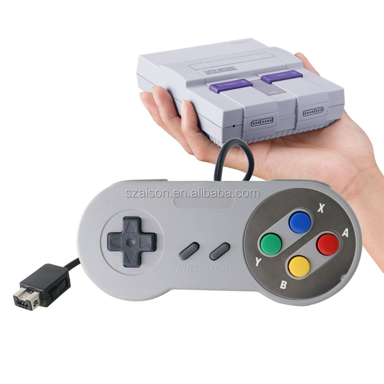 2017 Latest New SNES Classic Edition 1.8M Wired Controller for Super Nintendo Classic Entertainment System Wired Gamepad