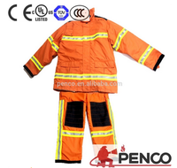 Fire personal equipments working coverall fire resistant clothing
