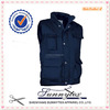 Quilted navy blue cargo vest Nylon Vest for Men