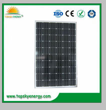 Made in China product 250w poly solar panel