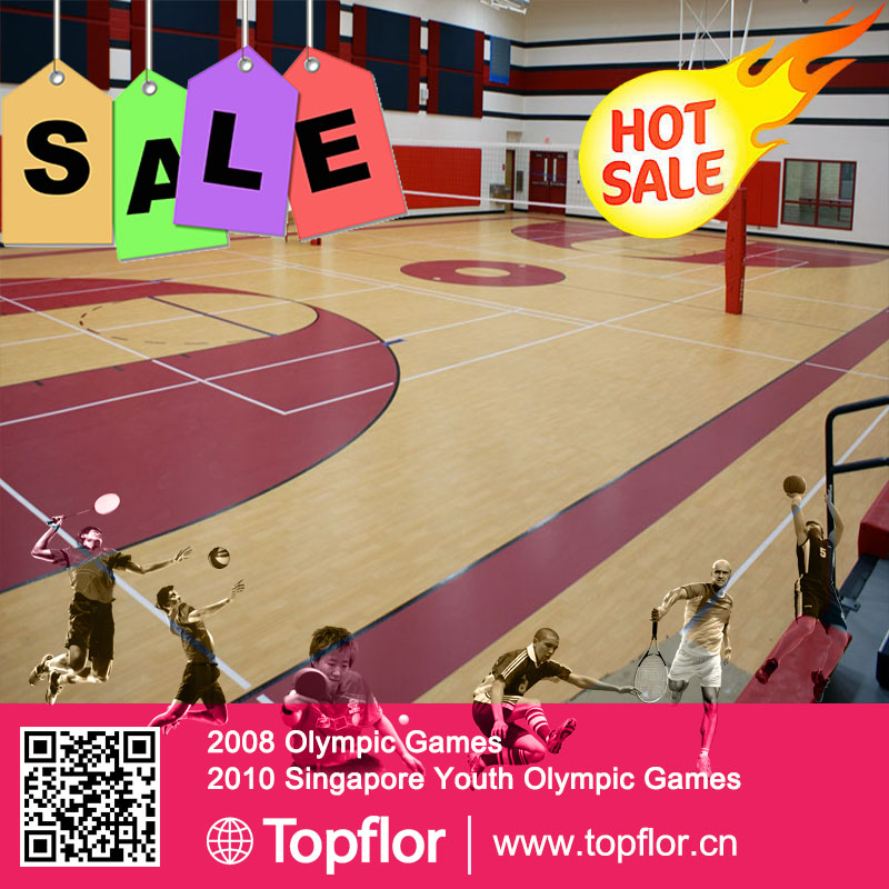 Basketball Indoor sports surface Volleyball Indoor pvc mats soccer sports flooring