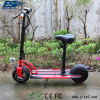 Easy rider red kids electric skateboard