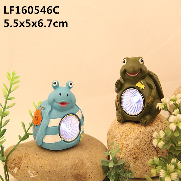 funny animal figurines resin garden statues turtle,miniature garden light decoration accessories