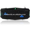 Multi Language Layout three colors Back light Computer Gaming Keyboard