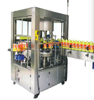 Roll Fed Labeler/Hot melt glue labeling machine