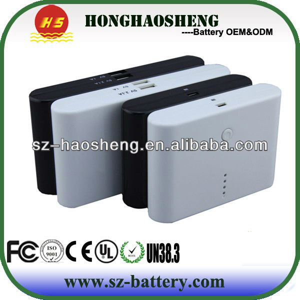 Hot Selling Li-polymer Battery 15000mAh Power Bank