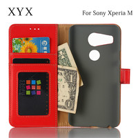 smart phone case flip cover for sony xperia m, for sony xperia m c1905 c1904