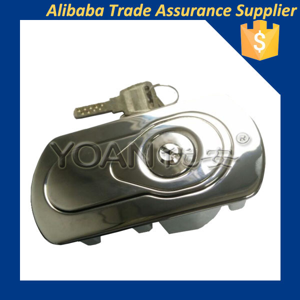 bright chrome plated egg type vending machine lock for self -service equipment