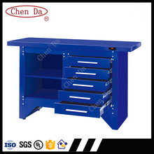 cold rolled steel industrial workshop drawer workbench, color customized