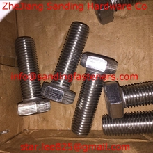 Wholesales Stainless steel A4-80 hex head bolt/bolts and nut,