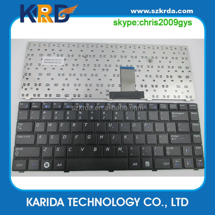 Original laptop notebook keyboard for Samsung RV408 P430 P428 P467 P429 P440 R440 R423 R425 US Black
