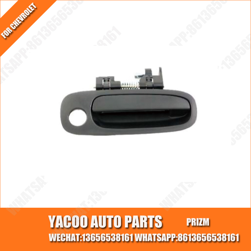 YACOO EXTERIOR AUTO CAR DOOR HANDLE AUTO PARTS CHINA MANUFACTURER WHOLESALER FOR CHEVROLET PRIZM 1998-2002