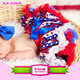 Independence Day American Flag Red White Blue Star July 4th Tutu Skirts Patriotic 4th Of July Pettiskirt For Baby Girls