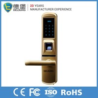 Universal black electronic safe fingerprint smart card key card door lock