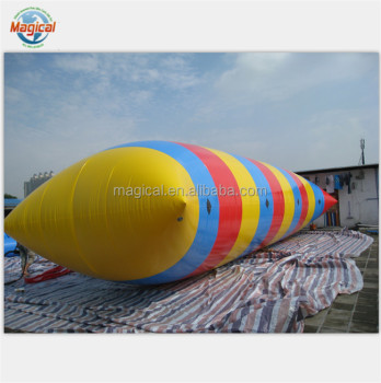 Inflatable jumping blob inflatable water blob inflatable water catpult blob