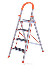 Easy moving Folding Sturdy Stairs Aluminum Step Ladder for home use