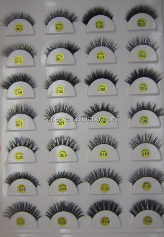 Wholesale 3D Mink Lashes Own Brand Mink Fur Eyelashes High Quality Lovely 3D Mink