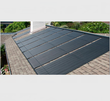 DIY polypropylene Homemade solar pool heating collectors on any roof