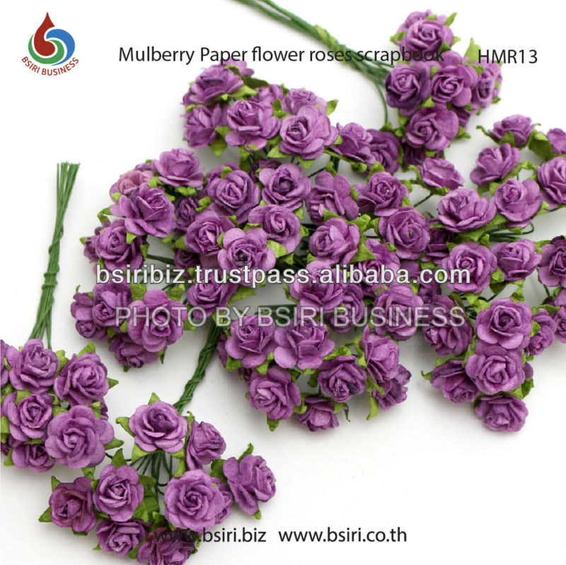 mulberry paper artificial flowers