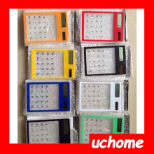 UCHOME Solar Transparent Calculator ,Solar Cute 8 Digit Calculator,Desktop Solar Calculator