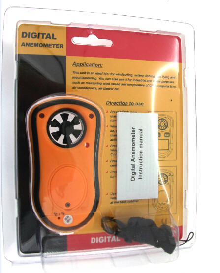 GM8908 Digital Wind Anemometer , Wind Anemometer