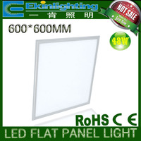 zhong shan factory product 600x600 led panel light 6500k CE RoHs approval