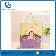 Custom Different Size Wedding Party Gift Bags Paper