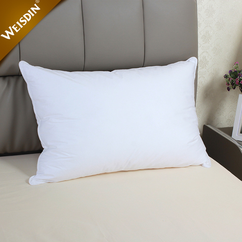 Custom hotel down-like feather pillow cheap wholesale pillows