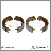 OE NO 04495-40020 Kapaco Competitive Price Best Brake Shoes For Toyota HIACE II Box Wagon