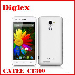 wholesale mobile phone CATEE CT300 MTK6582 Quad Core 3G Smartphone Android 4.2 with 8.0MP 1G RAM 4G ROM GPS