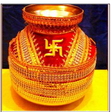 Decorated Kalash Lota RH-Kalash-205