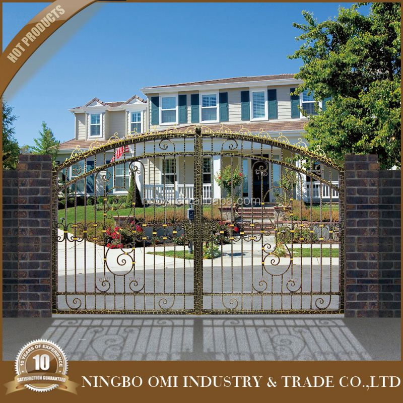 Beautiful gate designs gate designs for homes iron squear tube gate buy iron square tube gate - Beautiful house gates designs ...