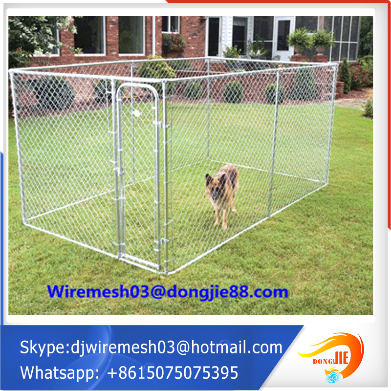 large outdoor wholesale welded tube dog kennel/dog enclosure