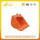 SK200 heavy duty rock construction drilling quick coupler mini excavator bucket