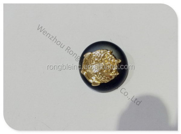 Newest antique peal and metal buttons for jeans