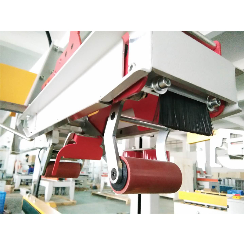 FM-Z500B Side Drive Auto Folder Cover Carton sealer for Packing Line Parallel Carton Sealing Machine