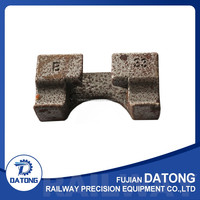 Hot Sale Railway Iron Foundation for Railroad Track Used