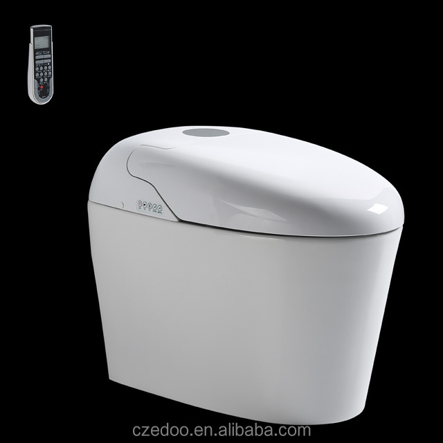 New style Automatic deodori Intelligent toilet alibaba hot sell smart toilet very good quality bathroom product strap auto flush
