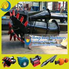 China Manufacturer Qingzhou Hengchuan 10/8 Inch Cutter Suction Dredger/Sand Dredging Machine for Breaking Up Hard Soil
