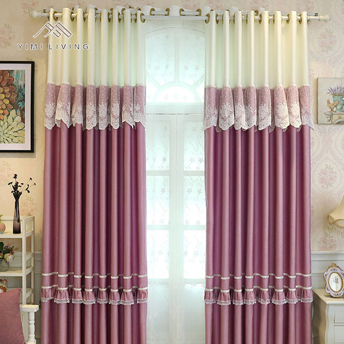 Made in China custom made elegant woven fancylace window curtain cheap