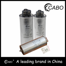 Wholesale reactive power compensation capacitor cylindrical type Var factor correction