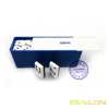 Two Tone Double Six Domino Game Set in Plastic Box, Bi Color Domino