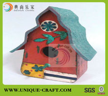 2017 wholesale high quality metal spy bird house decorative pet house