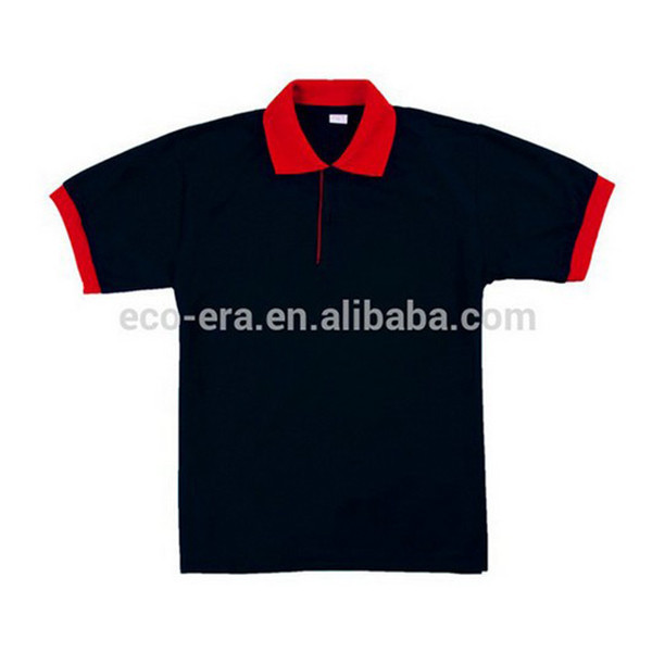 180g 100% Polyester Color Collar , Polo <strong>T</strong> <strong>shirt</strong> , Online Wholesale Shop , Allow To Mixed Colors Sizes Deliver Within 3 Days