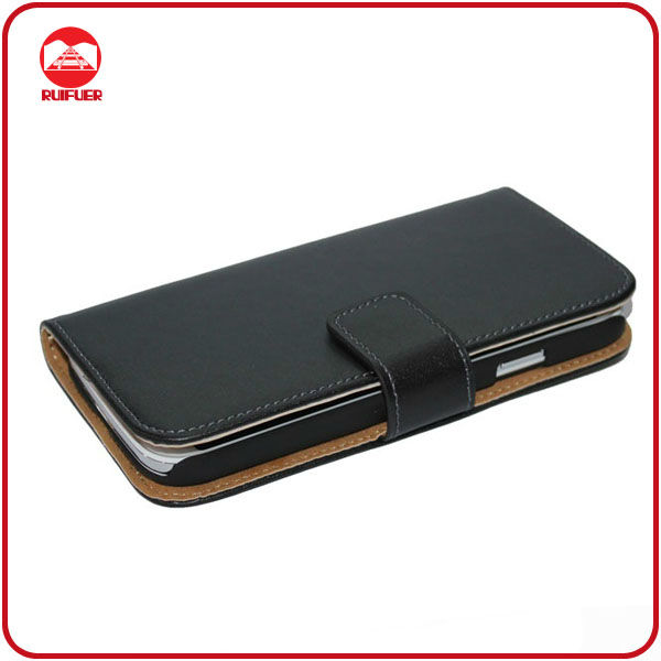 Leder Tasche Handy Cover for Samsung S4 i9500 Handy Case Bookstyle Wallet Case