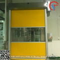 Industrial fabric automatic soft roll up door