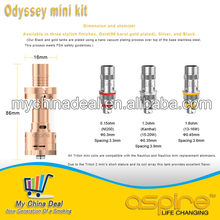 Original Aspire Triton mini tank vs Aspire nautilus mini, Aspire Odyssey mini kit vs Aspire premium kit TC MOD Clapton coil