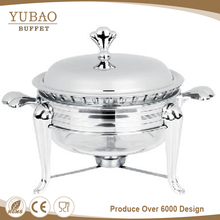 Rectangle stainless steel lid all types luxury wholesale electric mini buffet chafing dish
