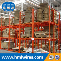 Movable warehouse heavy duty metal stacking racking